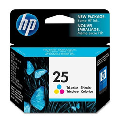 HP - Hp 25A-51625A Renkli Orjinal Kartuş