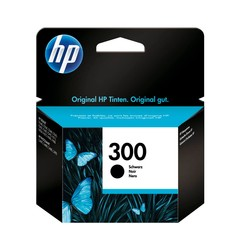 HP - Hp 300-CC640E Siyah Orjinal Kartuş