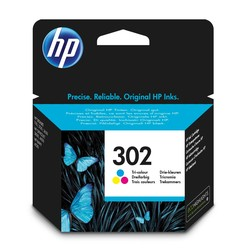 HP - Hp 302-F6U65AE Renkli Orjinal Kartuş