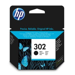 HP - Hp 302-F6U66AE Siyah Orjinal Kartuş