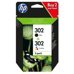 HP - Hp 302-X4D37AE Orjinal Kartuş Avantaj Paketi