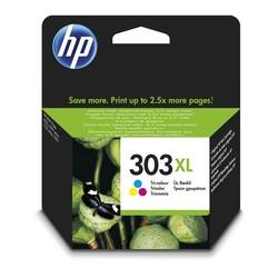 HP - Hp 303XL-T6N03AE Renkli Orjinal Kartuş Yüksek Kapasiteli