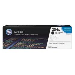 HP - Hp 304A-CC530AD Siyah Orjinal Toner İkili Paket