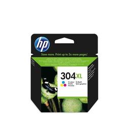 HP - Hp 304XL-N9K07AE Renkli Orjinal Kartuş Yüksek Kapasiteli