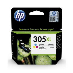 HP - Hp 305XL-3YM63AE Renkli Orjinal Kartuş Yüksek Kapasiteli