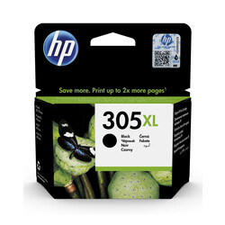 HP - Hp 305XL-3YM62AE Siyah Orjinal Kartuş Yüksek Kapasiteli