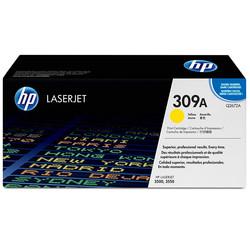 HP - Hp 309A-Q2672A Sarı Orjinal Toner