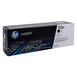 HP - Hp 312A-CF380A Siyah Orjinal Toner