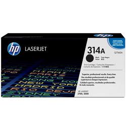 HP - Hp 314A-Q7560A Siyah Orjinal Toner