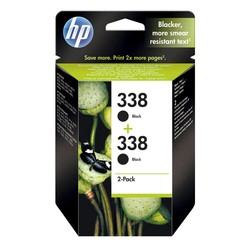 HP - Hp 338-CB331EE Siyah Orjinal Kartuş 2Li Paket