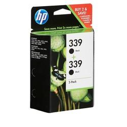 HP - Hp 339-C9504EE Siyah Orjinal Kartuş 2Li Paket