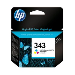 HP - Hp 343-C8766E Renkli Orjinal Kartuş
