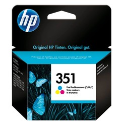 HP - Hp 351-CB337E Renkli Orjinal Kartuş