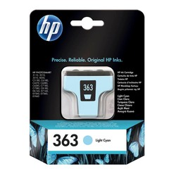 HP - Hp 363-C8774E Açık Mavi Orjinal Kartuş
