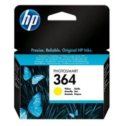 HP - Hp 364-CB320E Sarı Orjinal Kartuş