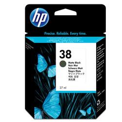 HP - Hp 38-C9412A Mat Siyah Orjinal Kartuş
