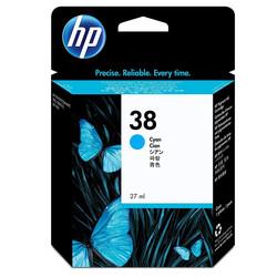 HP - Hp 38-C9415A Mavi Orjinal Kartuş