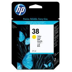 HP - Hp 38-C9417A Sarı Orjinal Kartuş