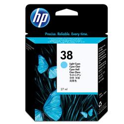 HP - Hp 38-C9418A Açık Mavi Orjinal Kartuş