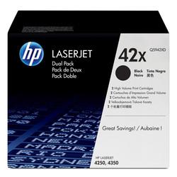 HP - Hp 42X-Q5942XD Orjinal Toner Yüksek Kapasiteli İkili Paket