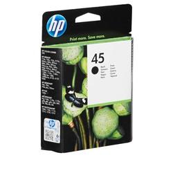 HP - Hp 45-51645A Siyah Orjinal Kartuş