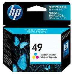 HP - Hp 49-51649A Renkli Orjinal Kartuş