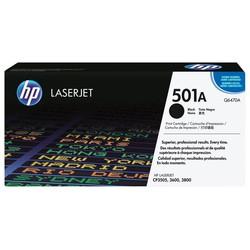 HP - Hp 501A-Q6470A Siyah Orjinal Toner