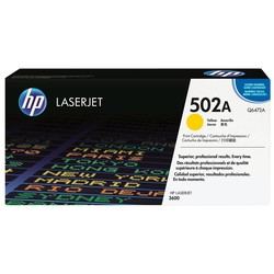 HP - Hp 502A-Q6472A Sarı Orjinal Toner