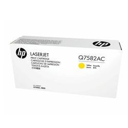 HP - Hp 503A-Q7582AC Sarı Orjinal Toner