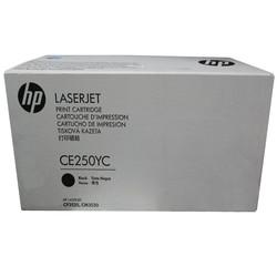 HP - Hp 504A-CE250YC Siyah Orjinal Toner Yüksek Kapasiteli