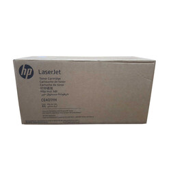 HP - Hp 507A-CE401YH Mavi Orjinal Toner Yüksek Kapasiteli