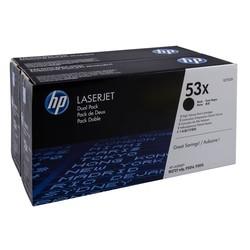 HP - Hp 53X-Q7553XD Orjinal Toner Yüksek Kapasiteli İkili Paket