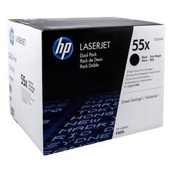 HP - Hp 55X-CE255XD Orjinal Toner Yüksek Kapasiteli İkili Paket