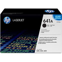 HP - Hp 641A-C9720A Siyah Orjinal Toner