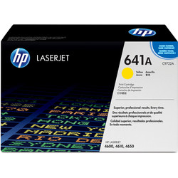 HP - Hp 641A-C9722A Sarı Orjinal Toner