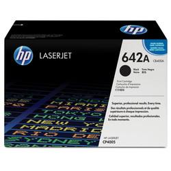 HP - Hp 642A-CB400A Siyah Orjinal Toner