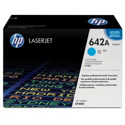 HP - Hp 642A-CB401A Mavi Orjinal Toner
