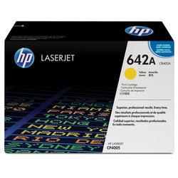 HP - Hp 642A-CB402A Sarı Orjinal Toner
