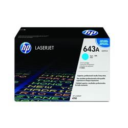 HP - Hp 643A-Q5951A Mavi Orjinal Toner