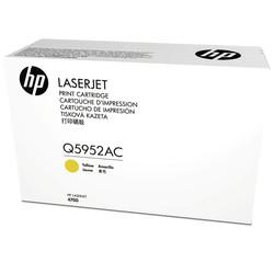 HP - Hp 643A-Q5952AC Sarı Orjinal Toner