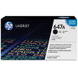 HP - Hp 647A-CE260A Siyah Orjinal Toner