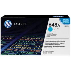 HP - Hp 648A-CE261A Mavi Orjinal Toner
