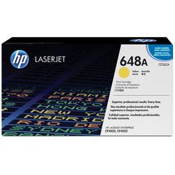 HP - Hp 648A-CE262A Sarı Orjinal Toner