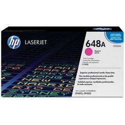 HP - Hp 648A-CE263A Kırmızı Orjinal Toner