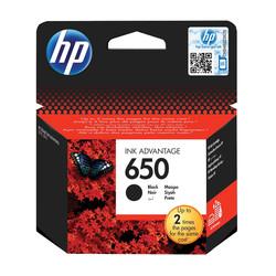 HP - Hp 650-CZ101AE Siyah Orjinal Kartuş