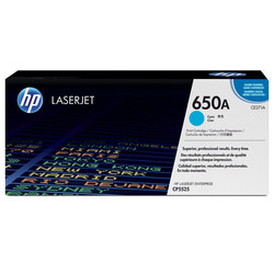 HP - Hp 650A-CE271A Mavi Orjinal Toner