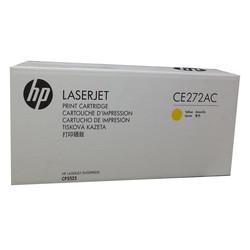 HP - Hp 650A-CE272AC Sarı Orjinal Toner