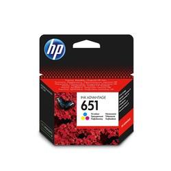 HP - Hp 651-C2P11AE Renkli Orjinal Kartuş
