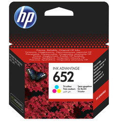 HP - Hp 652-F6V24AE Renkli Orjinal Kartuş