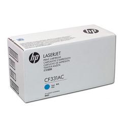 HP - Hp 654A-CF331AC Mavi Orjinal Toner